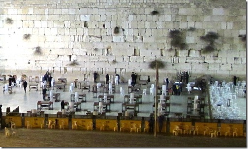 Wailing Wall Later at Night Dec 23rd 2011